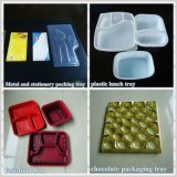 Macchina di plastica di Thermoforming del coperchio di Tray& degli alimenti a rapida preparazione di Hongyin