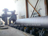 Máquinas calientes de la limpieza de la ráfaga de tiro de la pared externa del tubo de acero de la venta