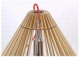 Lampe suspension LED en bois de haute qualité