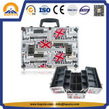 Kundenspezifischer kosmetischer Schönheits-Verfassungs-Aluminiumkasten (HB-1201)