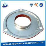 Pièce en aluminium de fabrication de tôle de précision d'OEM par de plaque métallique