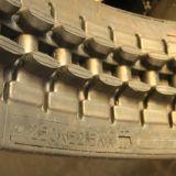 chenille en caoutchouc (250x52.5) pour KUBOTA KX76 K022 Pièces de machines d'excavateur