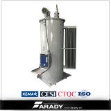 Одиночная фаза Поляк установила погруженный маслом регулятор Шаг-Напряжения тока 13.8kv