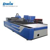 Preço inoxidável da máquina de estaca do laser da fibra do metal do CNC do carbono