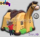 Het commerciële Huis van de Sprong van de Trampoline van de Uitsmijter van het Paard Opblaasbare Opblaasbare voor Jonge geitjes