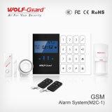 Alarme inteligente com alarme de roubo de incêndio de GSM GSM com voz