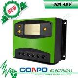 40A/48V, LCD, PWM controlador solar