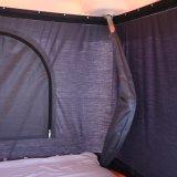 2~3 أشخاص برّيّة [4إكس4] يستعصي علبيّة سقف خيمة لأنّ يخيّم