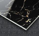 黒いコピーの大理石の磨かれた磁器の床タイル800X800の陶磁器の床タイルの石のタイル