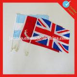 Национальные двойной печать стороны флаг
