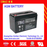 Batterie d'alimentation à l'acide à base de plomb 12V 100ah