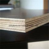 Cine negro/marrón ante la madera contrachapada con pulsar dos veces para la construcción de madera contrachapada de