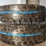 Schlussteil und Ladevorrichtung verwendeter Polyurethan-füllender Reifen für Bergbau