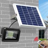 Lumière Emergency de détecteur de 120 DEL d'inondation de lumière de jardin de projecteur de mur de chemin extérieur solaire foncé de lampe