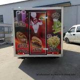طعام شاحنة كشك متحرّك سريعة/سريعة متحرّك طعام مقطورة