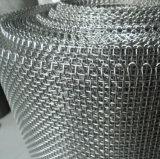 Engranzamento de fio tecido planície do aço inoxidável