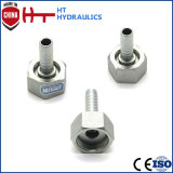 Btainless Stahlpassende hydraulische Schlauchleitung-Messinghochdruckbefestigung
