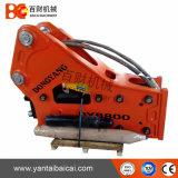 Soosan Sb81 grosser hydraulischer Steinunterbrecher auf Exkavatoren 18-26ton