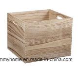 L'étagère des caisses en bois Collection Home Boîte de rangement de paniers de cadeaux de Noël Bibliothèque