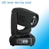 Nueva etapa de 280W 10r Spot haz 3in1 moviendo la cabeza de la luz de lavado