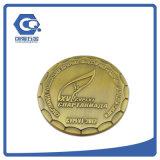 Выполненная на заказ Die-Casting конструкция 3D коммеморативная монетка