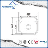 Quadratischer Edelstahl-Küchenbedarf gepresste Wanne (ACS4865)
