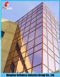 Clara Luz/vidrio reflectivo vidrio reflectante de oro/Cristal de construcción con la norma ISO9001