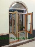 Gitter-Aluminiumflügelfenster-Fenster