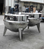 Caldera de mezcla vestida del acero inoxidable con el mezclador
