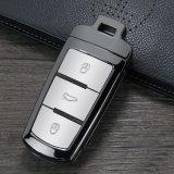 Kc_V03 Fashion novo carro Chave de metal caso abrange para a Volkswagen