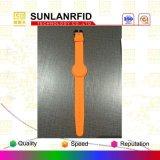 Access Control에 있는 개인화된 Custom Programmable RFID Silicone Wristbands NFC Wristband