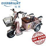Elektrische Gemotoriseerde Fiets Trikes Met drie wielen met drie wielen voor Volwassenen met Mand