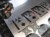 500W- 2000W máquina de corte de fibra a laser do Filtro