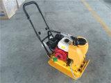 Compressor Vibratory C80t da placa do pisco de peito vermelho do Único-Sentido com o motor de gasolina Ey20 do pisco de peito vermelho