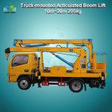200kg 10m-24m Elevação Máxima de Elevação da Lança montado no veículo do veículo