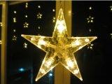 Licht van het openlucht/Binnen LEIDENE van Kerstmis van de Decoratie het Kleurrijke Koord van de Ster