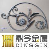 Flor de hierro forjado ornamentales para la decoración de la puerta