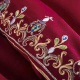 100% algodão agrafos longos egípcio bordados roupa grossista definido