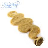 새로운 별 브라질 Virgin 머리 금발 바디 파 머리