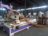 木工業のための鋭い単位および行為のツールスピンドルが付いているローディングそしてUmloadingのネスティング解決CNCのルーターの機械装置