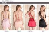 """Pijamas """"sexy"""" Sy10303228 da seda e do laço das mulheres por atacado do Nightwear da roupa de noite"""