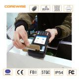 NFCの指紋センサーが付いているアンドロイド6.0のクォードのコアPOSターミナル