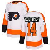 Signora Kid Philadelphia Flyers 53 Shayne Gostisbehere 28 Claude Giroux 11 Travis Konecny 17 Wayne Simmonds dei 2018 una nuova uomini di marca 9 pullover su ordinazione del hokey di Provorov
