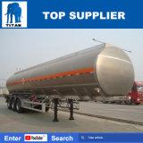 De Tanks van de Aardolie van de Aanhangwagen van de Brandstof van de titaan de Aanhangwagen van de Vrachtwagen van de Tanker van het Aluminium van 40 voet