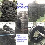 Solution d'usine de pneu de moto/pneu de moto faisant la machine