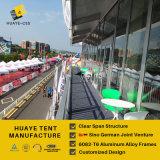 De openlucht Tent van het Dek van de Dekking van pvc van de Structuur van het Aluminium Dubbele voor Gebeurtenissen