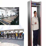 Fábrica de abastecimento de porta de porta interior detector de metais para uso do aeroporto Detector de metal Archway