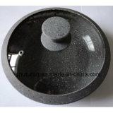 Крышка мраморный силикона стеклянная для Cookware с сертификатом УПРАВЛЕНИЕ ПО САНИТАРНОМУ НАДЗОРУ ЗА КАЧЕСТВОМ ПИЩЕВЫХ ПРОДУКТОВ И МЕДИКАМЕНТОВ