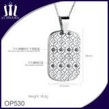 ネックレスのための卸し売り敏感な女性のステンレス鋼の水晶ペンダント