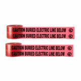 高力BOPP/Al/PEの地下の探索可能な警告または注意テープ